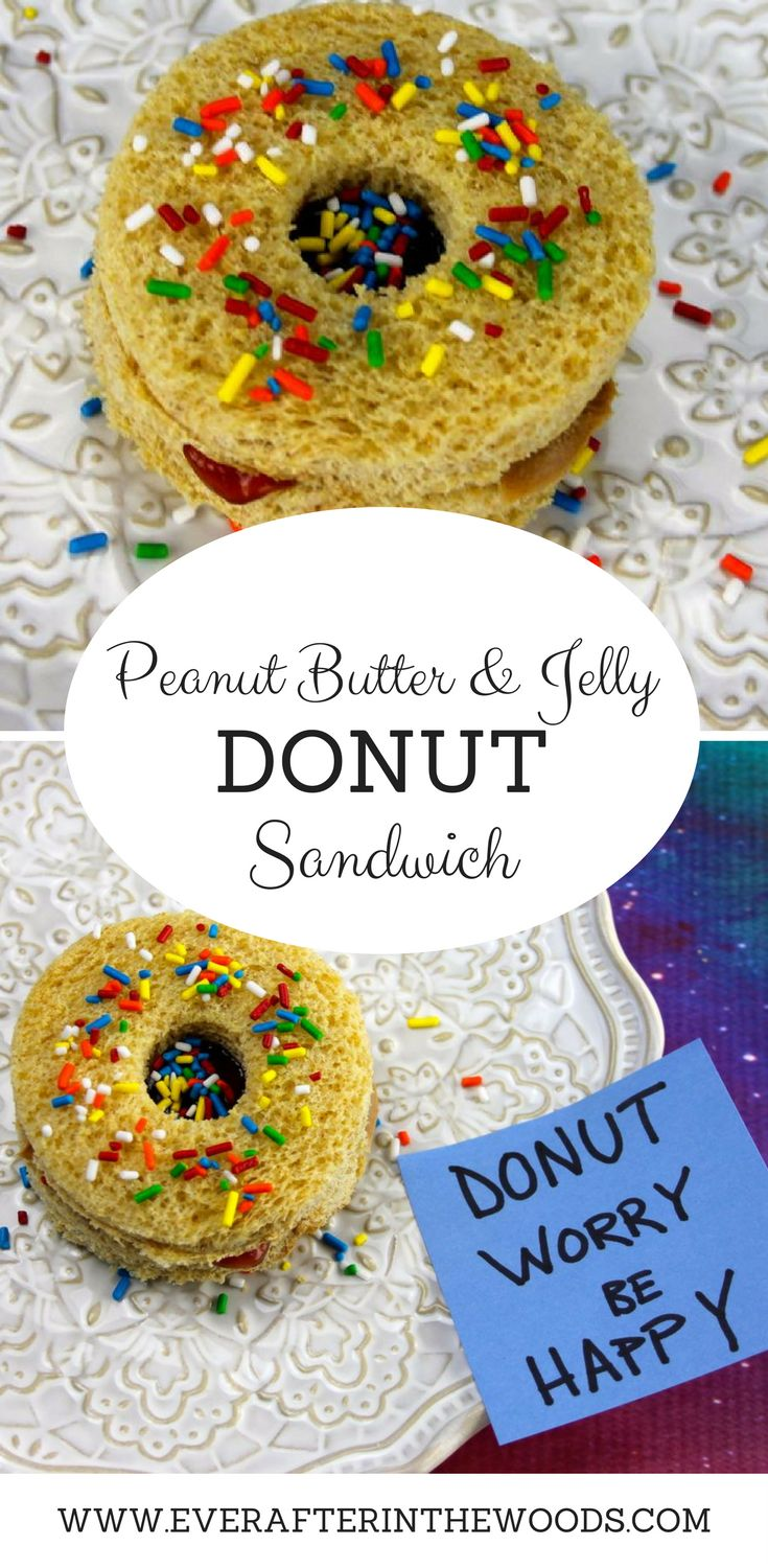 Peanut Butter and Jelly Donut Sandwiches  @Jifpeanutbutter and @smuckers that we bought in @ShopRiteStores for the perfect back to school lunch after the holiday season! #AD  #MorethanPBandJ