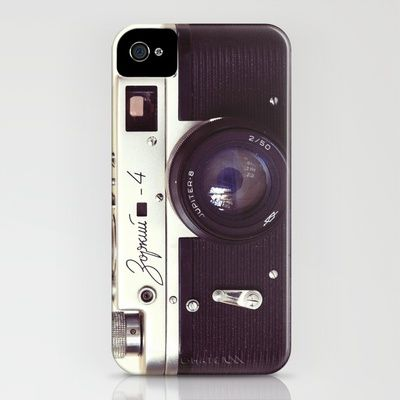 So many Iphone cases from this site that I love...Zorki vintage camera iPhone Case by Bomobob - $35.00