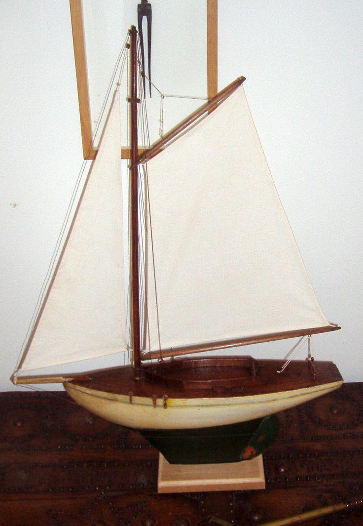 Voilier de bassin voiliers et bateaux de bassin pinterest - Voilier de bassin ancien nanterre ...