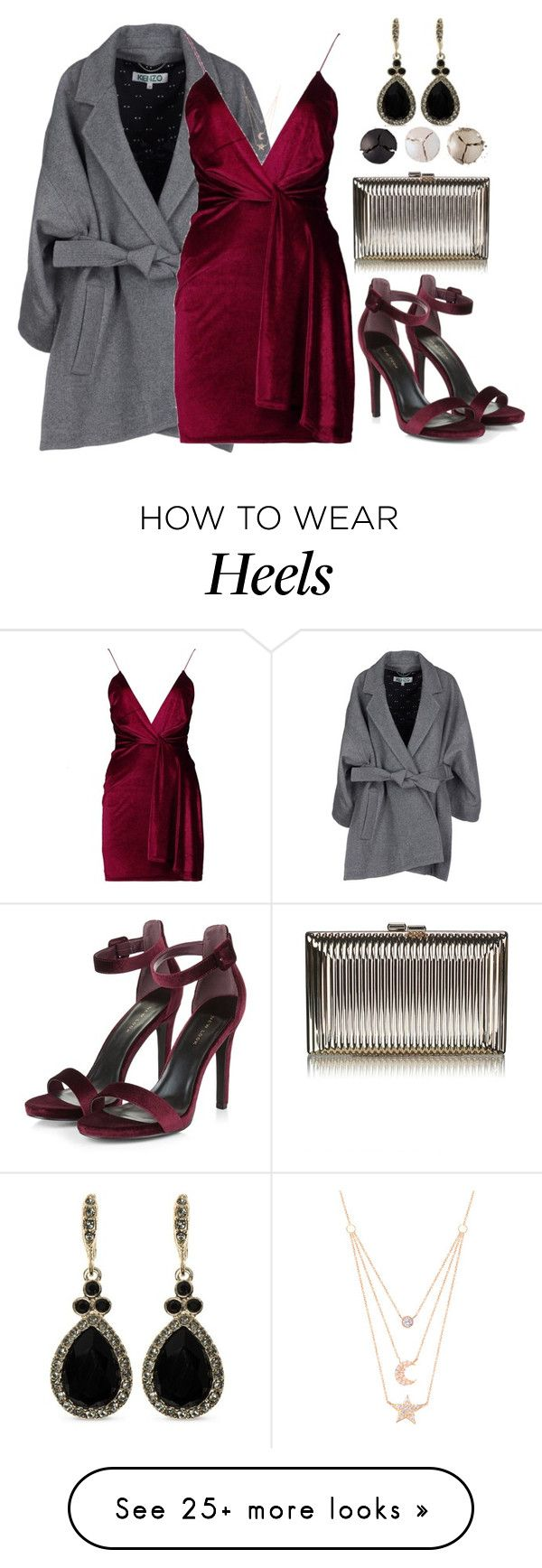 """""""Untitled #637"""" by hallierosedale on Polyvore featuring Kenzo, Boohoo, Pat McGrath, Givenchy and Gabi Rielle"""