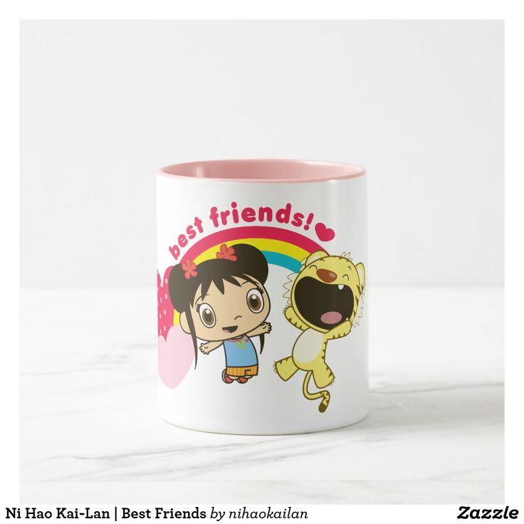 Ni Hao Kai-Lan | Best Friends Mug. Regalos, Gifts. Producto disponible en tienda Zazzle. Tazón, desayuno, té, café. Product available in Zazzle store. Bowl, breakfast, tea, coffee. #taza #mug