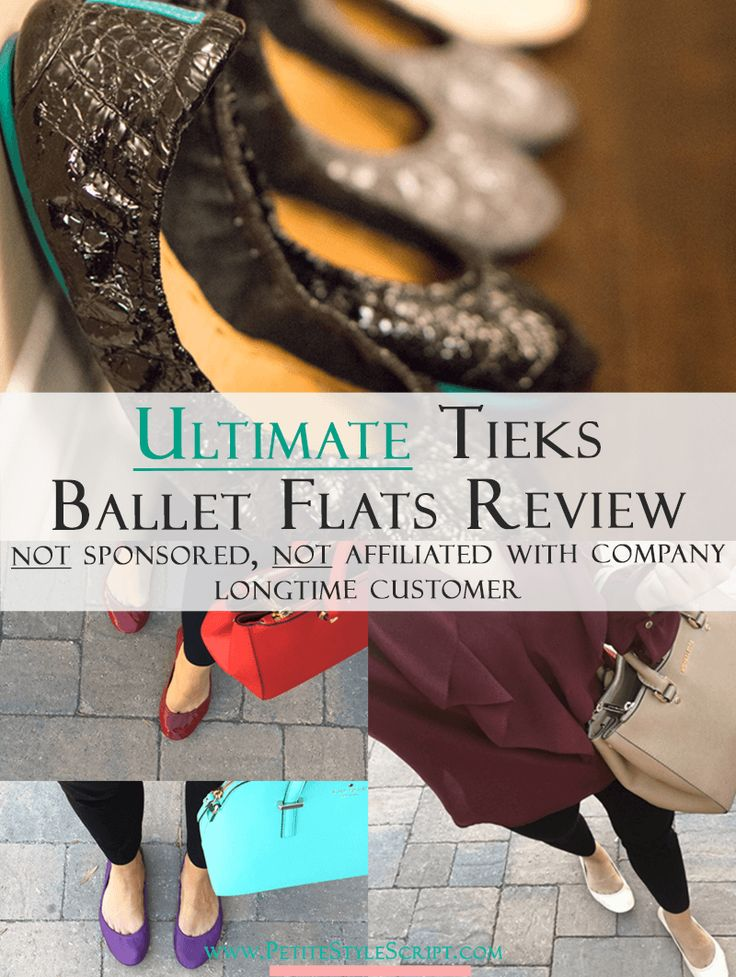 Tieks Ballet Flats Review | Honest Tieks Review | Ultimate Tieks Review | Are Tieks worth the price? | Are Tieks comfortable? | Do Tieks last? | Should I purchase patent or classic leather Tieks? | All your questions answered here. Best ballet flats for busy professionals. Not affiliated. Not sponsored. Click to read & watch more! via @PStyleScript