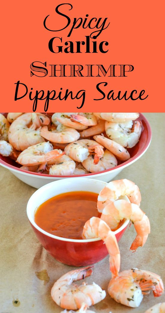 Boiled Shrimp and Spicy Garlic Dipping Sauce #sponsored #DeliciouslySimple