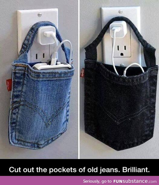 What to do with Jean pockets