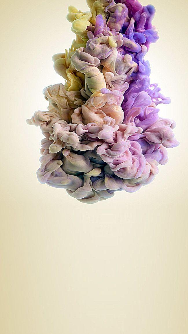 دخان ملون خلفية Plant Background Bulbous Plants Lilac