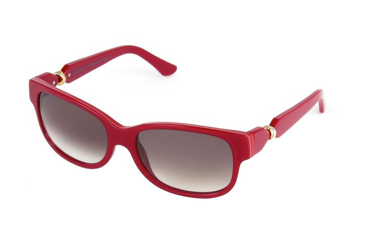 Cartier Trinity Red 56mm Rectangular/Oval Women's Sunglasses T8200829. CLEMENCE T8200829.
