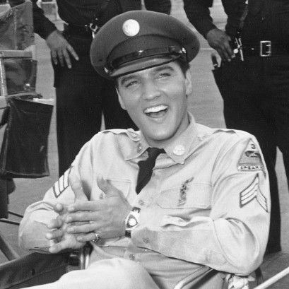 "Elvis Presley ""The next thing I knew, I was out of the service and making movies again. My first picture was called, GI Blues. I thought I was still in the army.""                                                                                                                                                                                 More"