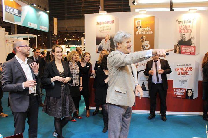 Salon du Livre 2015 - Initiation au charleston
