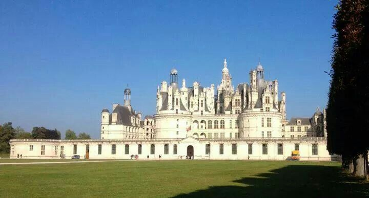 Chambord - Visited by Steffen and I in  September 1987