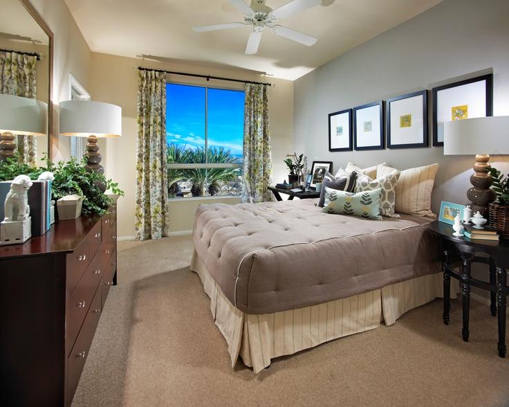 One Bedroom model unit at City Lights in Aliso Viejo, CA.