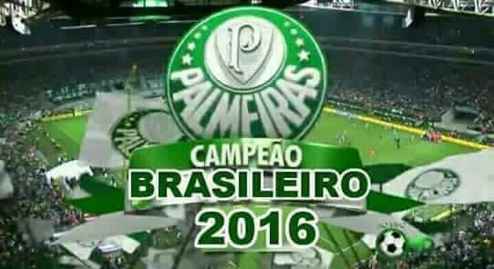 Palmeiras Campeão Brasileiro 2016 - Rodada 36, 20/11/16