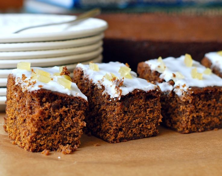 Mary Berry Gingerbread traybake