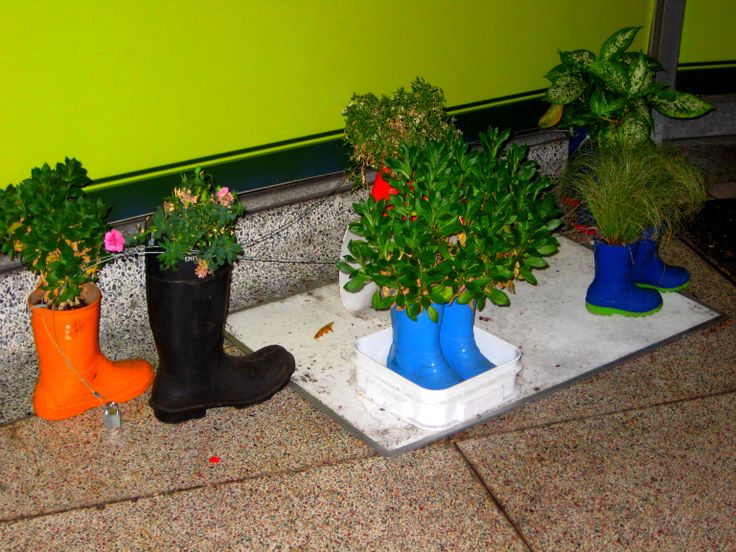 Plant boots on Douglas. Photo taken by one of our MGB students, J.C (MGB '14)