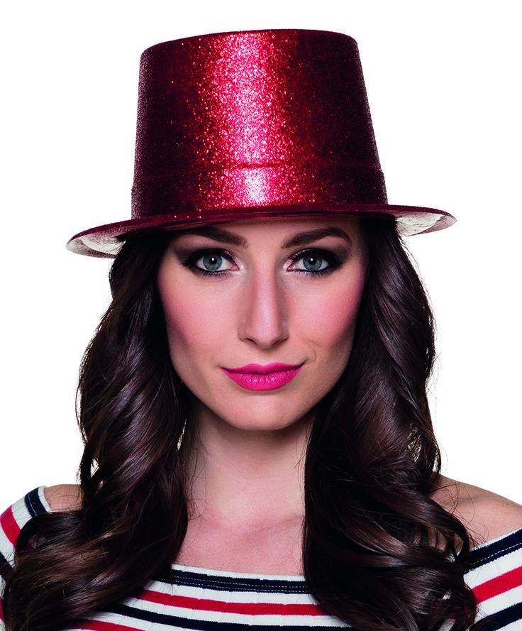 Glitter-hattu, eri värejä