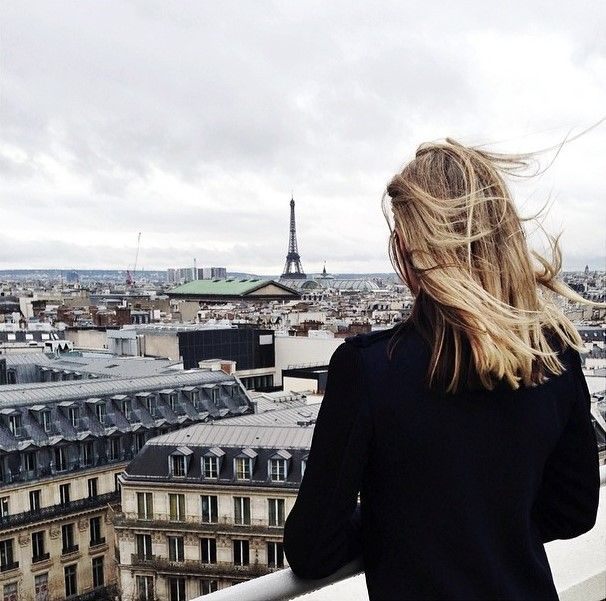 looking out over #paris ...