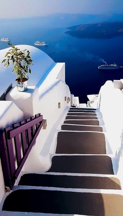 Santorini #Grecia