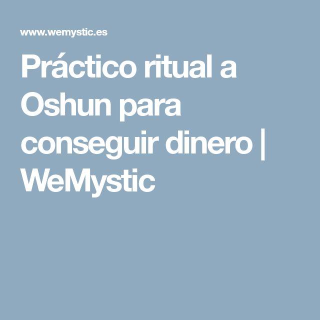 Práctico ritual a Oshun para conseguir dinero   WeMystic