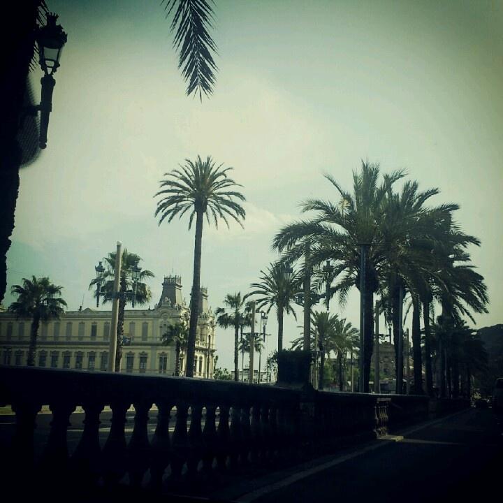 Barcelona Spain Port olimpic