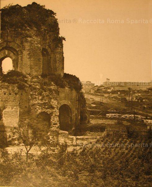 Via Giolitti – Tempio di Minerva Medica Anno: 1860