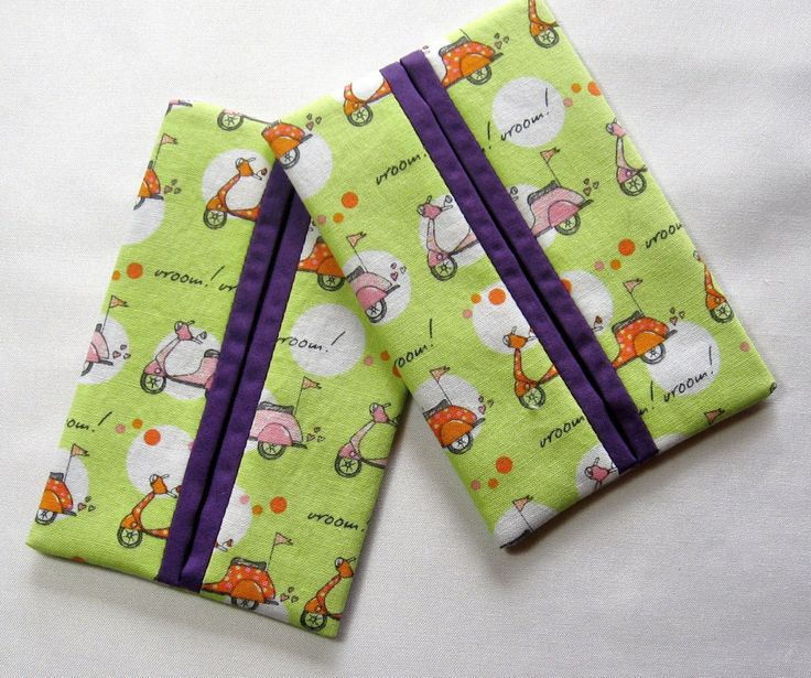 9.84$  Watch now - http://vimyo.justgood.pw/vig/item.php?t=0ii6i515158 - Vespa Motor Scooter Purple Travel Tissue Kleenex Holder Set of 2 Handmade Gift 9.84$