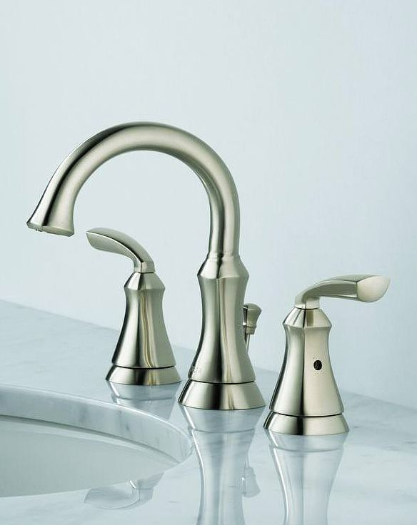 Delta Mandara 8 In Widespread 2 Handle Bathroom Faucet In Stainless Home Colors And Old Houses