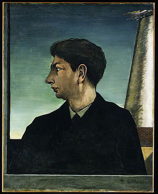 Self-Portrait Giorgio de Chirico (Italian (born Greece), Vólos 1888–1978 Rome) Date: 1911