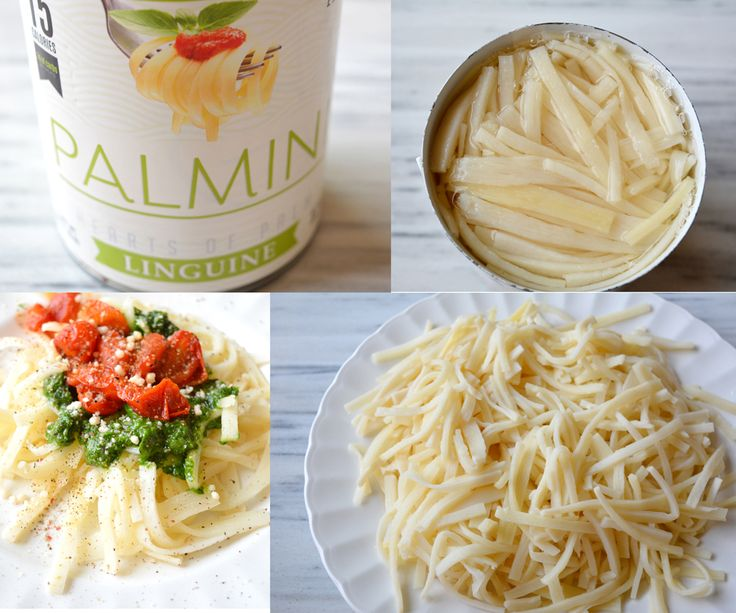 I Tried Out Palmini The 15 Cal Serving Quot Linguini Quot Made From Hearts Of Palm Xpost Linguini
