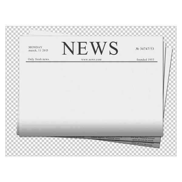 Blank Newspaper Template 20+ Free Word, PDF, Indesign, EPS
