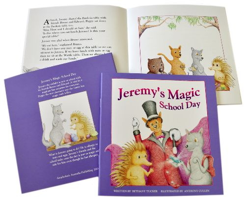 Jeremy's Magic School Day was .50 - Allergy & Anaphylaxis Australia