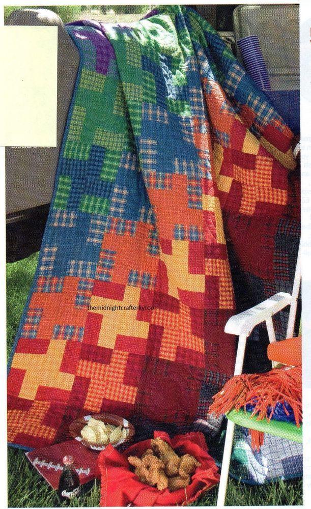 Tail Gate Quilt Pattern Pieced CP