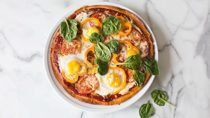 Pizza délice'œufs