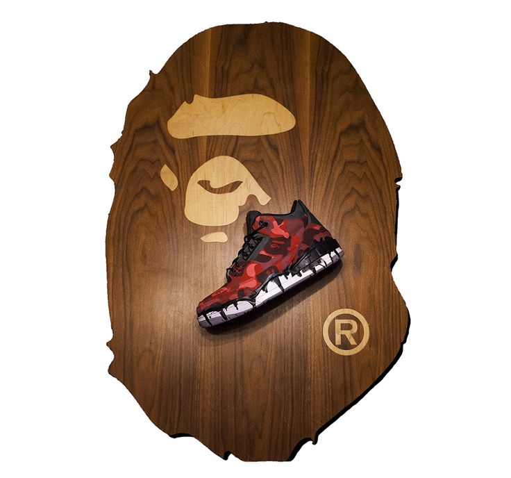 BAPE/Ice Cream Air Jordan 3 Retro Custom by JBF