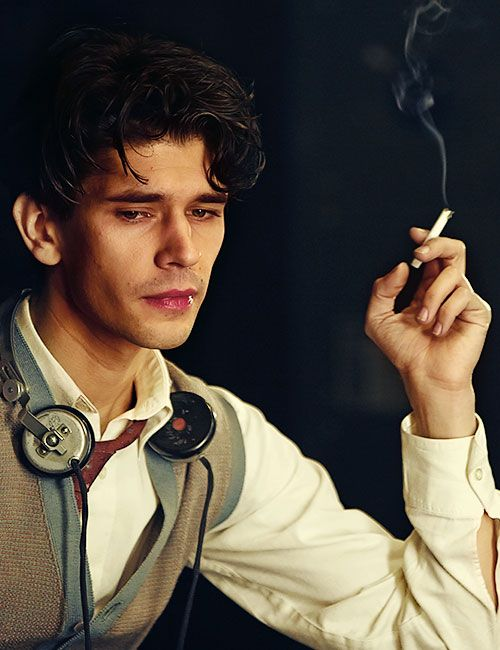 Ben Whishaw [photo, but composition reminds me of artist-whose-name-eludes-me]