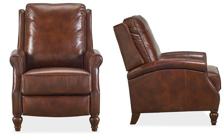 Leeah Leather Recliner - Chairs & Recliners - Furniture - Macy's