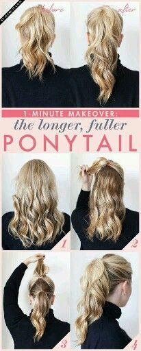 Loger, fuller ponytail