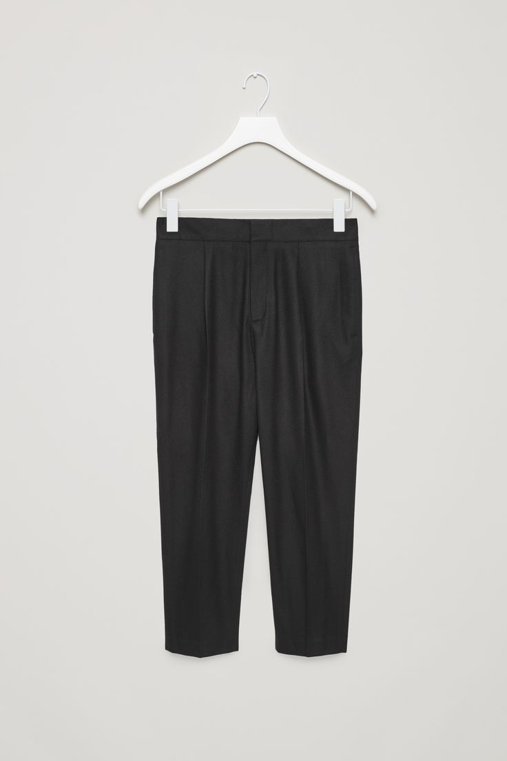 COS | Wool trousers with drop crotch