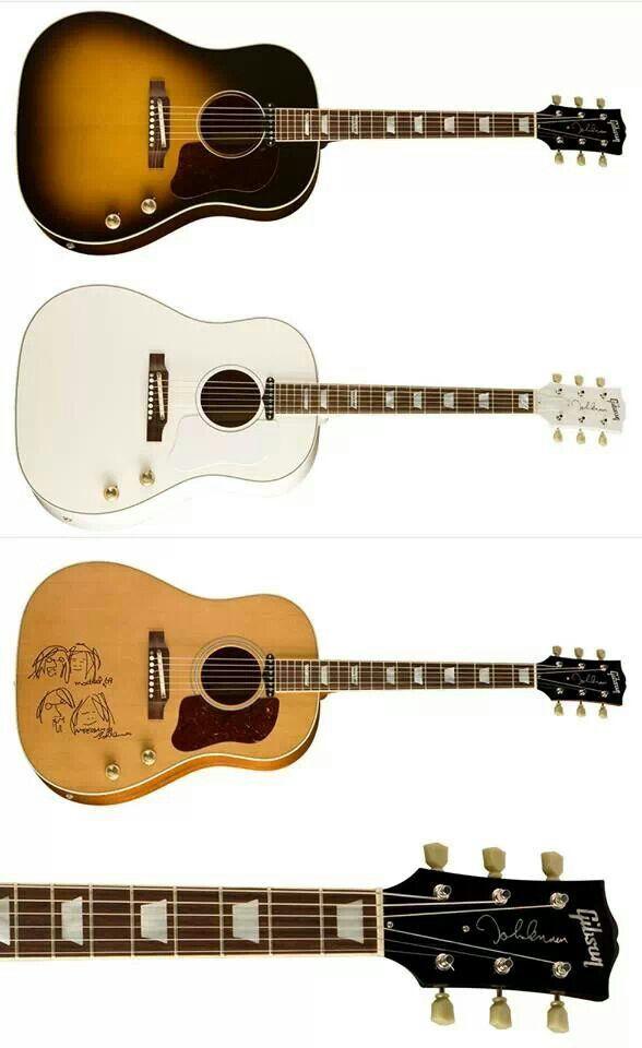 Gibson J-160E Acoustic John Lennon Guitars