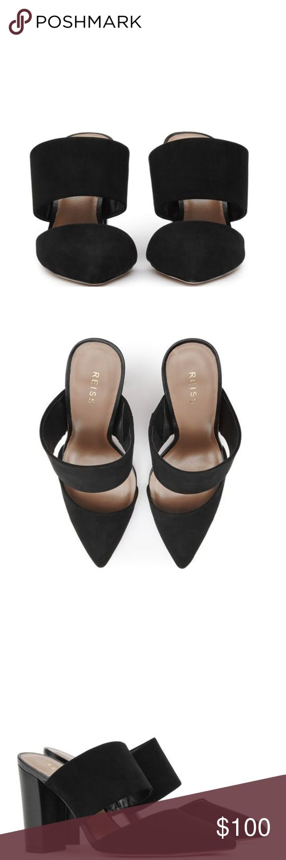 "LOOKING FOR *ISO* Cupid Mules Looking for this exact ""Cupid Mules"" from REISS  *price isn't the price range I am looking for, it's just a random amount*  Thank you Reiss Shoes Mules & Clogs"