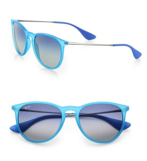 Ray-Ban Vintage-Inspired Round Sunglasses Teal           $49.00