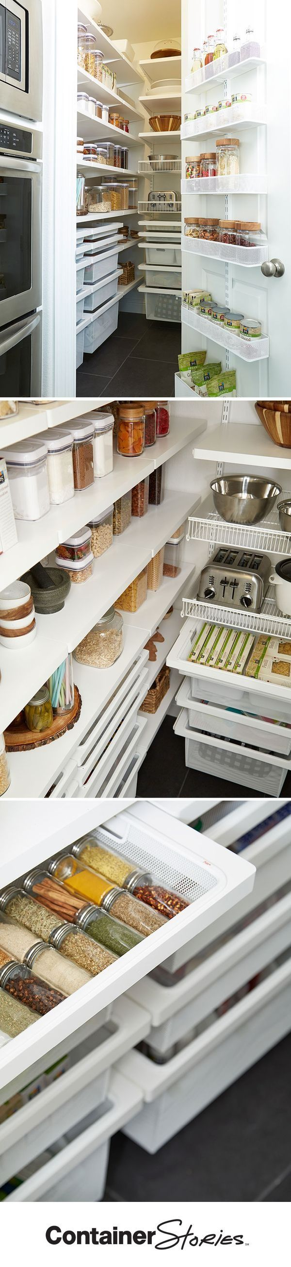 Design Elfa Pantry 55 best elfa pantry images on pinterest container store custom from an utility door wall rack to decor drawers shelves and shelf