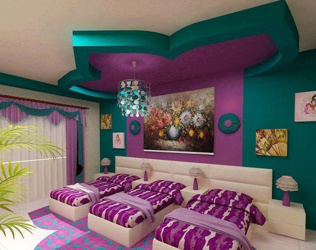 bedroom gypsum ceiling designs