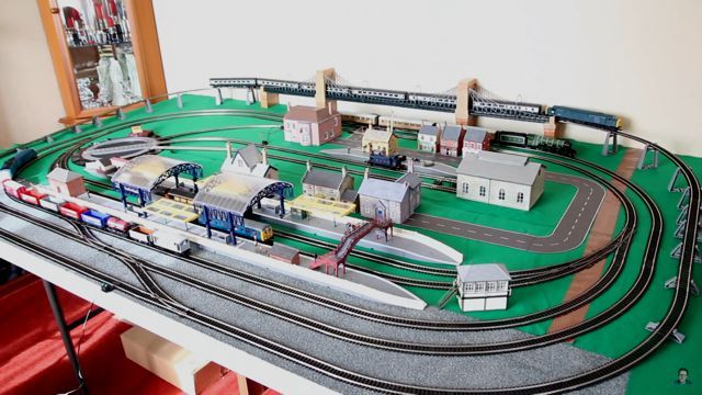 The Oo Scale Layout Of Dr Jake Ho Scale Train Layout Layout Model Train Layouts