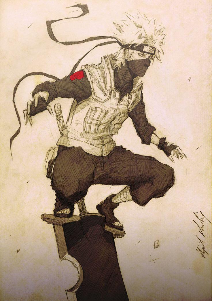 :Kakashi:Kengeki: by Abz-J-Harding.deviantart.com