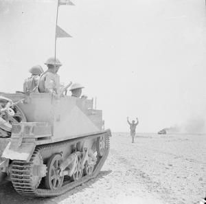 THE BRITISH ARMY IN NORTH AFRICA 1942 (E 12669)