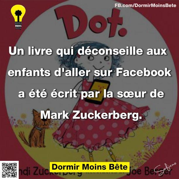 Un livre qui déconseille aux enfants d'aller sur Facebook a été écrit par la sœur de Mark Zuckerberg.