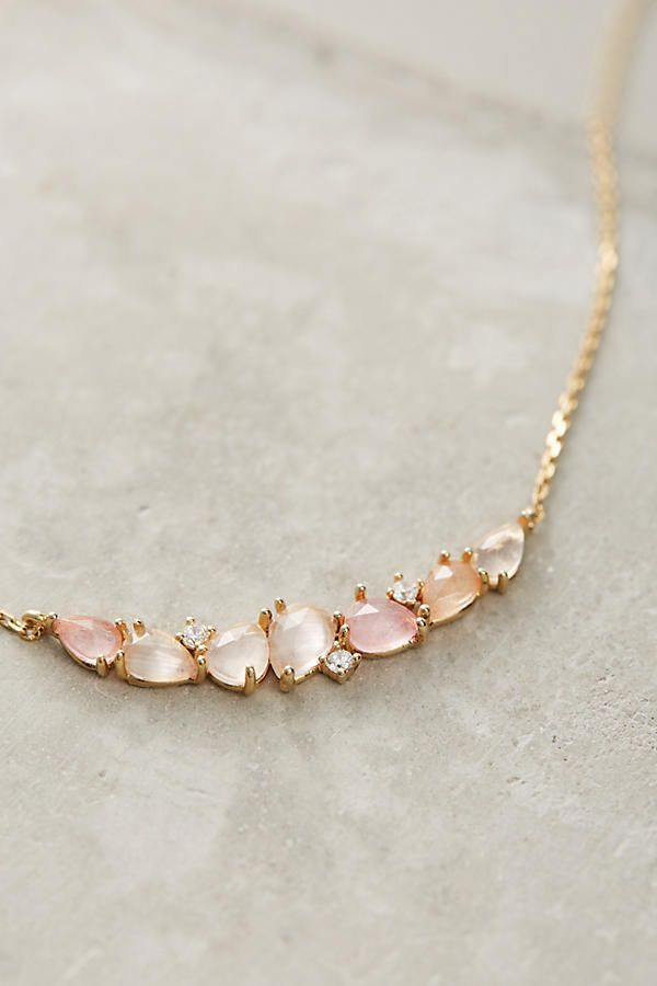 Stone Arch Necklace /