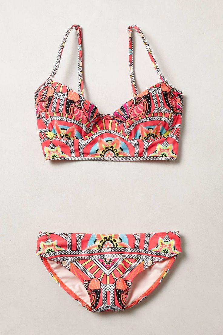 graphic bikini