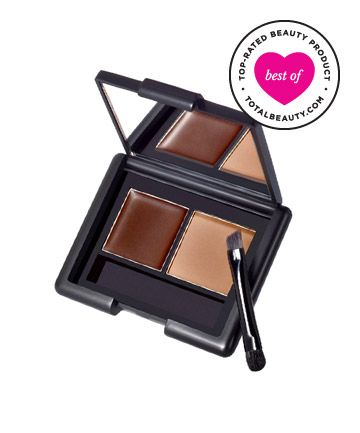 """Best Brow Product No. 15: E.L.F. Eyebrow Kit, $3 TotalBeauty.com average member rating: 9.0*  Why it's great: TotalBeauty.com readers agree that this affordable eyebrow kit, which comes with brow powder, wax, mirror and a brush, can """"easily compete with a department store or prestige product."""" Thanks to the double-sided brush with angled applicator and spoolie, one reader says, """"It takes me absolutely no time to do my brows."""""""