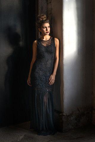 Whimsical Dress - Black
