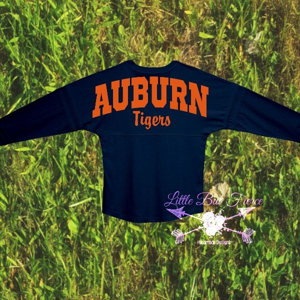 Auburn Tigers Oversized Jersey! You Choose Color and text! Auburn Tigers, Customize by LittleButFierceCo on Etsy